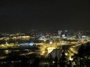 Нощния град Осло