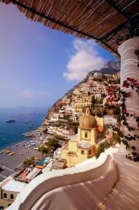 Позитано, Италия - италианска приказка край морето