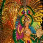 Пъстро парти за карнавала в Тенерифе, Испания