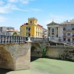 Мостът в град Мурсия