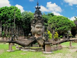 Буда Парк Лаос